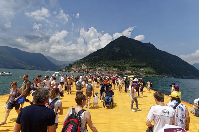 Christo Floating Piers 2016
